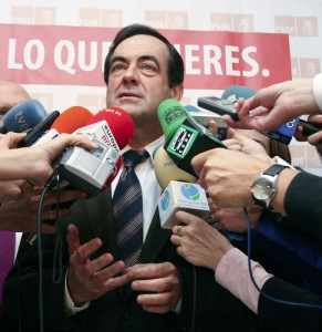 José Bono entra en acció per afrontar una de les seves obsessions: l'independentisme català
