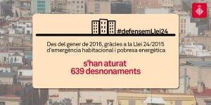 L'Ajuntament de Barcelona, en mans d'Ada Colau, defensa una llei del Parlament de Catalunya. Això és el que hem de cercar